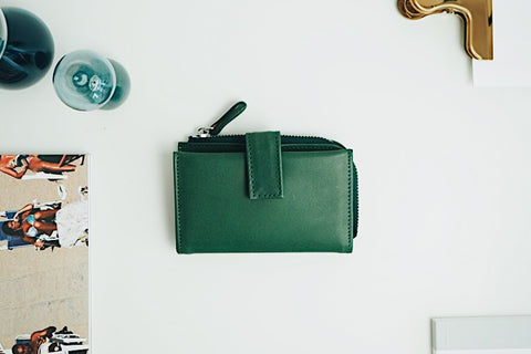 Luca Key Wallet - Dark Green