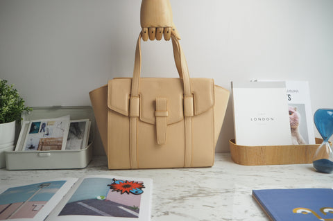 Callie Tote Bag - Natural Color