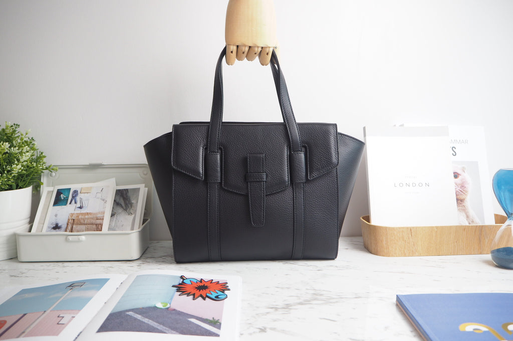 Callie Tote Bag - Black Color