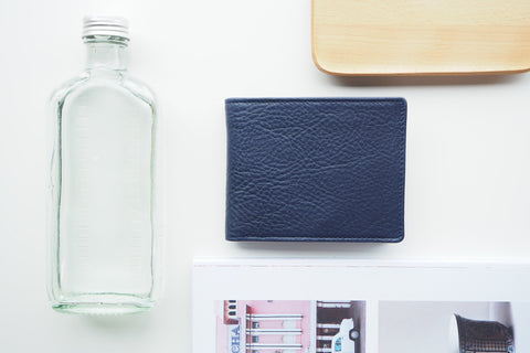Homer Billfold Wallet - Navy Blue