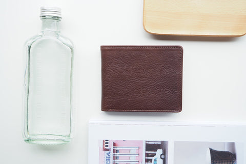 Homer Billfold Wallet - Dark Brown