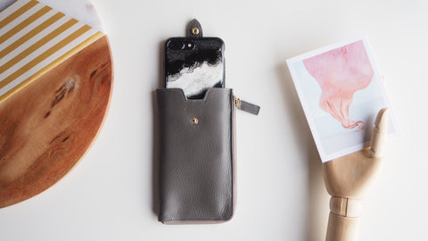 Smartphone Sleeve (L) - Gray