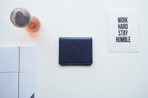 Duke Mini Wallet - Navy Blue