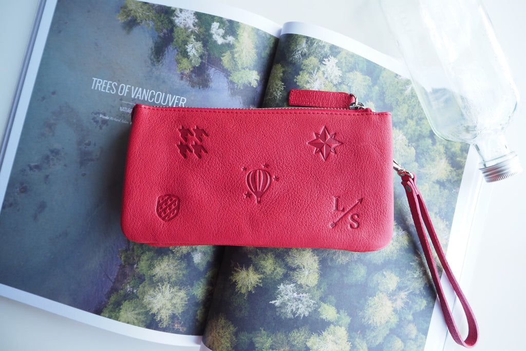 Morey Wallet - Red