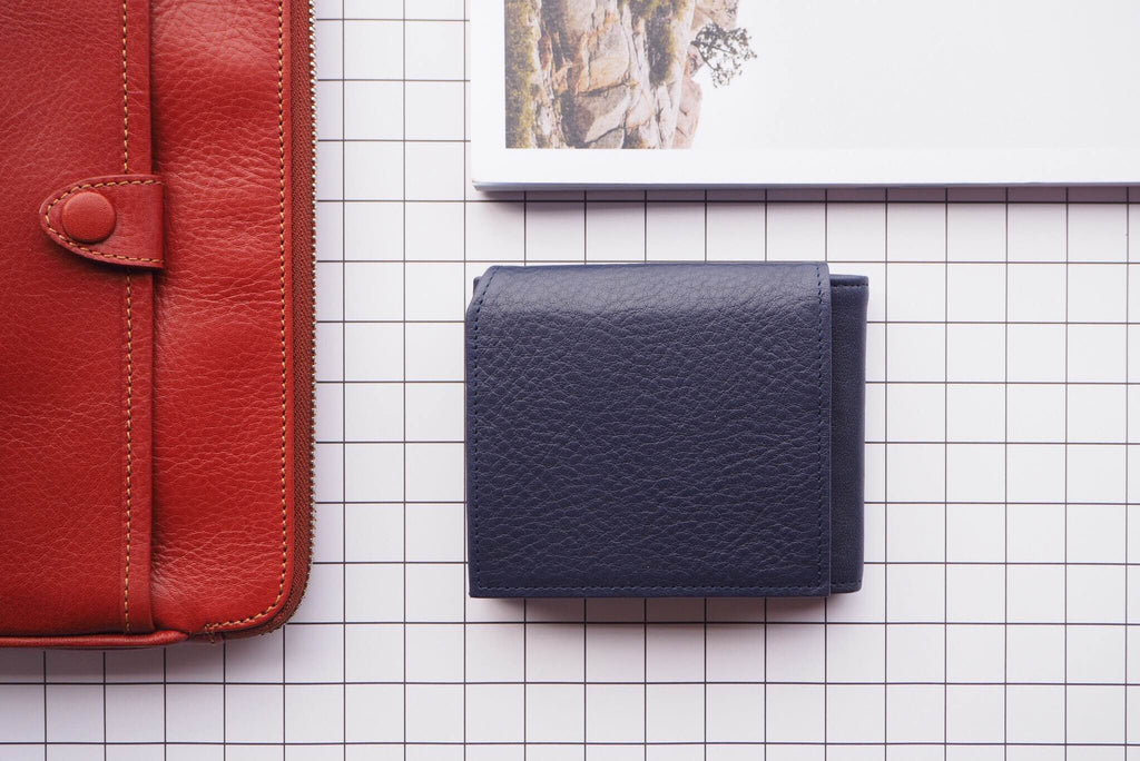 Phil Wallet - Navy Blue