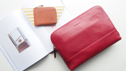 Auden Zip Messenger Bag - Red