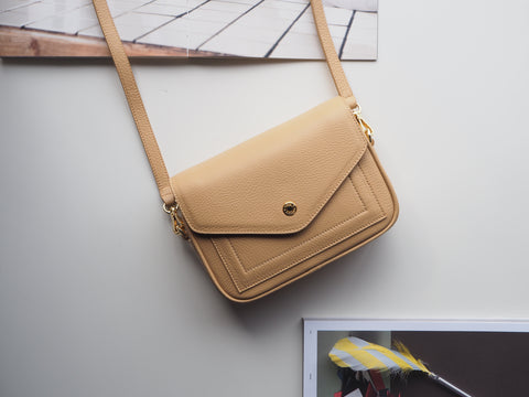 Mini Kensington Crossbody Bag - Lemon Chiffon