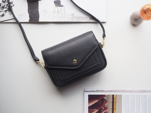 Mini Kensington Crossbody Bag - Black