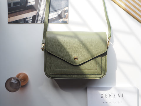 Kensington Crossbody Bag - Green