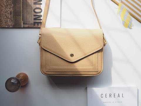 Kensington Crossbody Bag - Lemon Chiffon