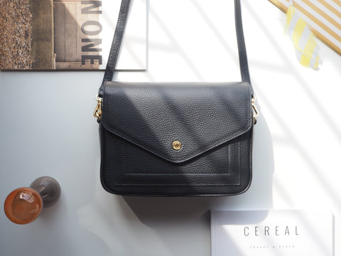 Kensington Crossbody Bag - Black