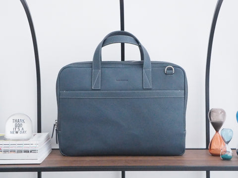 Auden Briefcase - Navy Blue