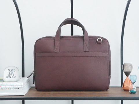 Auden Briefcase - Dark Brown