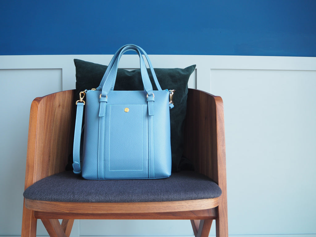 Kensington Dairy Bag - Light Blue