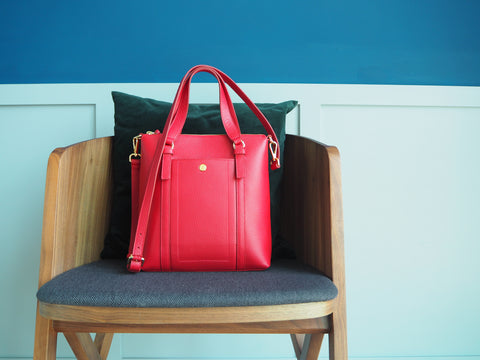 Kensington Dairy Bag - Red