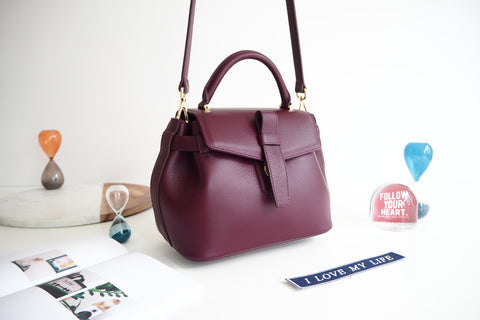 Callie Bag - Burgundy