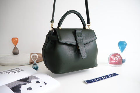 Callie Bag - Dark Green