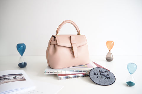 Mini Callie Bag - Pink Rose