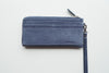 Long Dries Zip Wallet - Navy Blue
