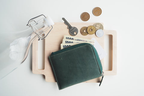 Dries Zip Wallet - Green