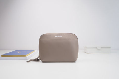 Mini Ashley Cross Body Bag - Taupe