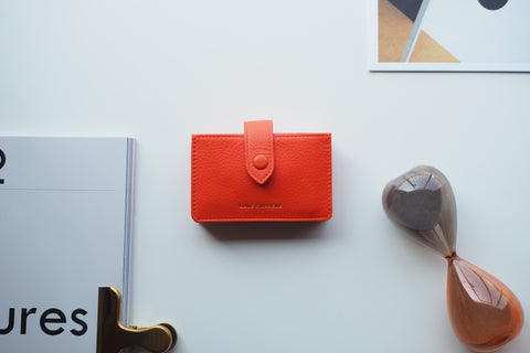 Brax Card Holder - Orange