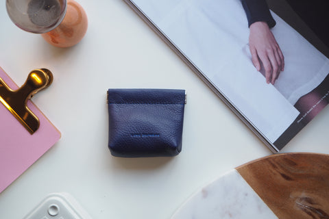 Coin Purse - Indigo Blue