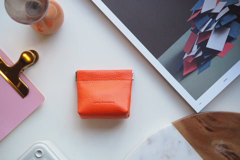 Coin Purse - Orange