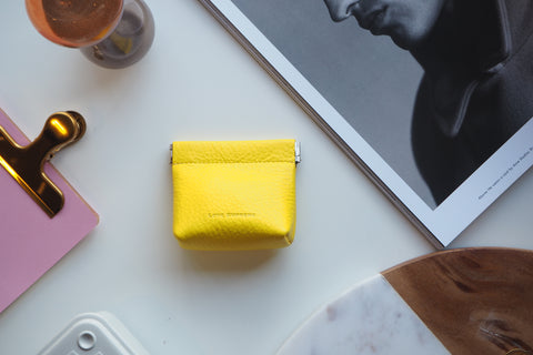 Coin Purse - Yellow