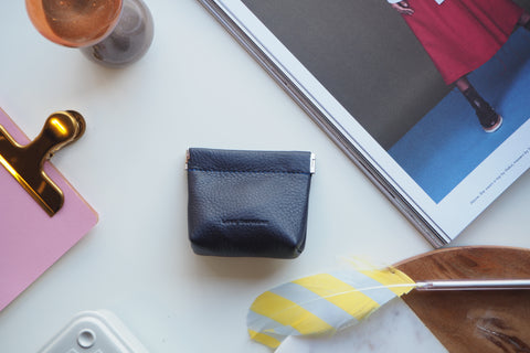 Coin Purse - Navy Blue