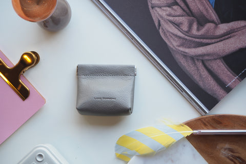 Coin Purse - Light Gray