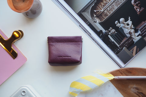 Coin Purse - Burgundy