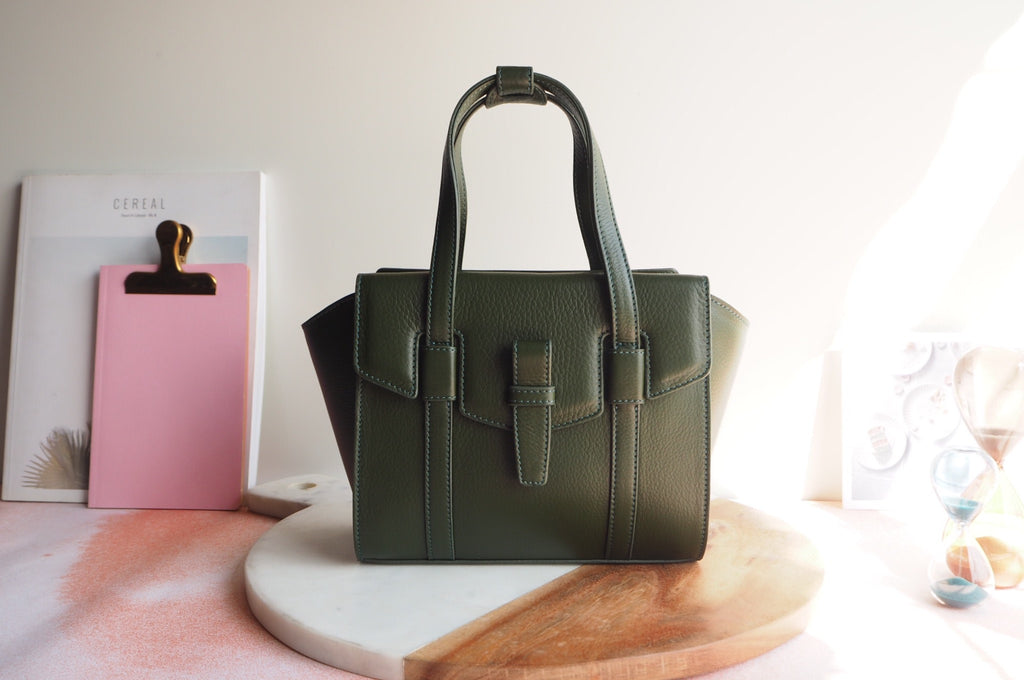 Mini Callie Tote Bag - Green Color