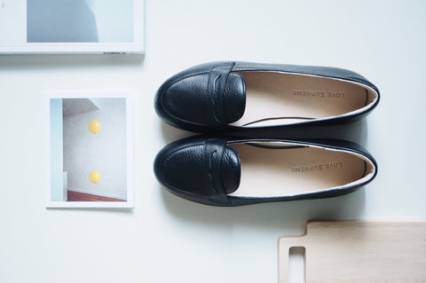 Bessie Loafer Shoe - Black
