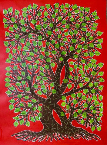 Trees in Gond Art