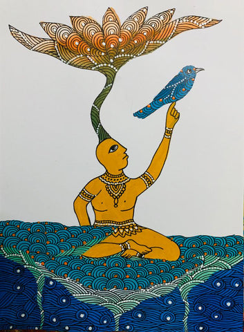 Badadev in Gond Art