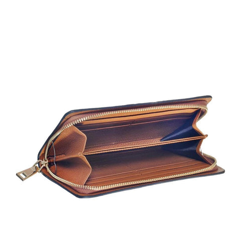 WHERE BE DRAGONS, TAN WALLET