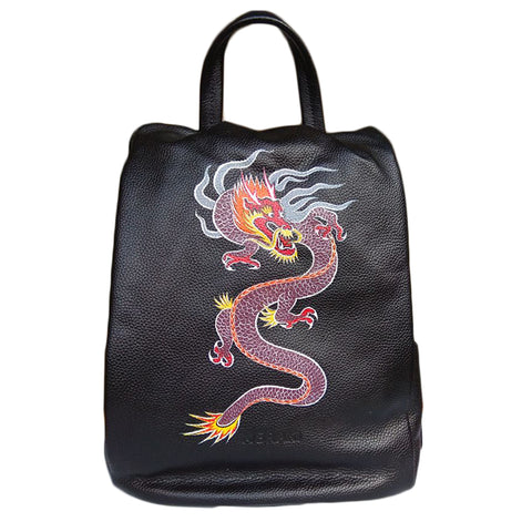 Where Be Dragons, Black Backpack