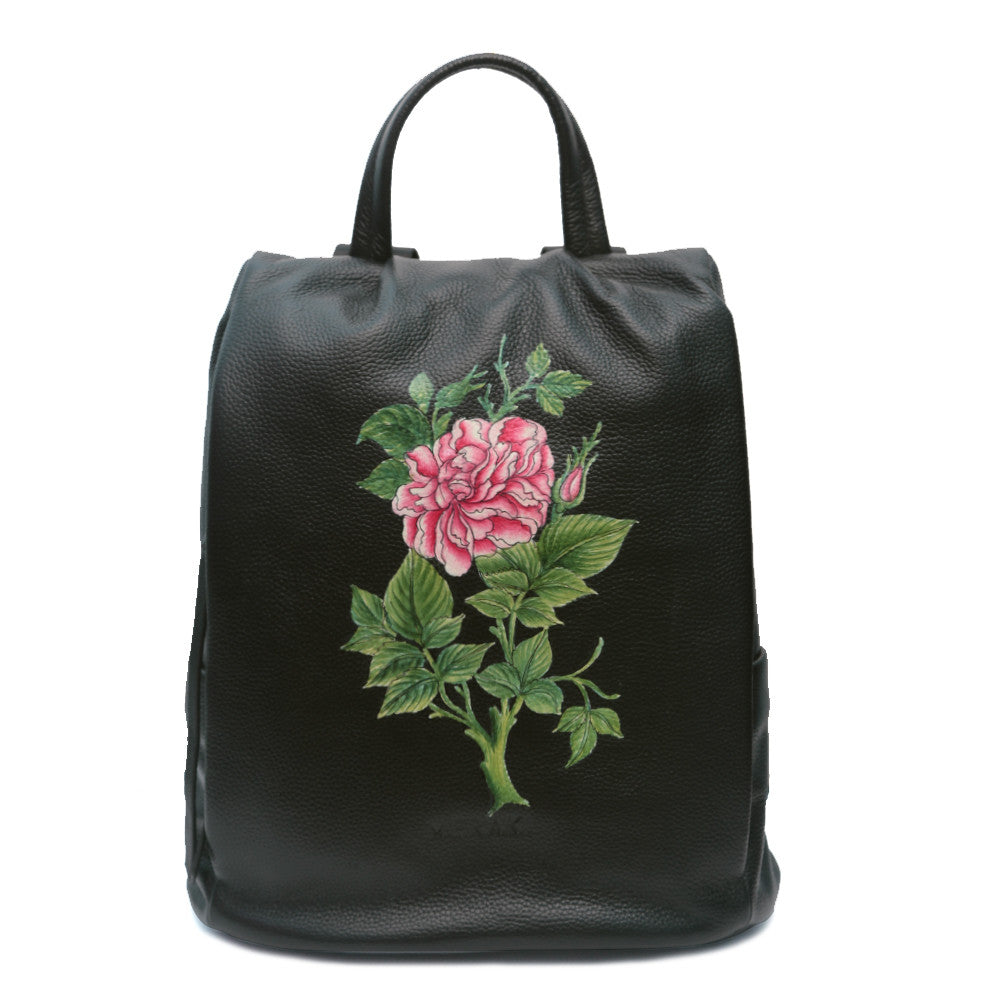 The Rose, Black Backpack