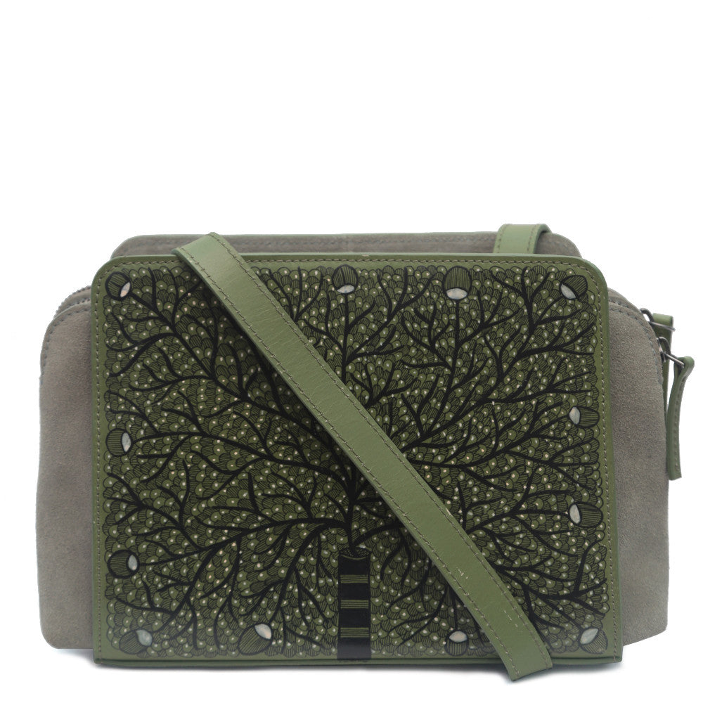 My Deepest Roots, Green Crossbody