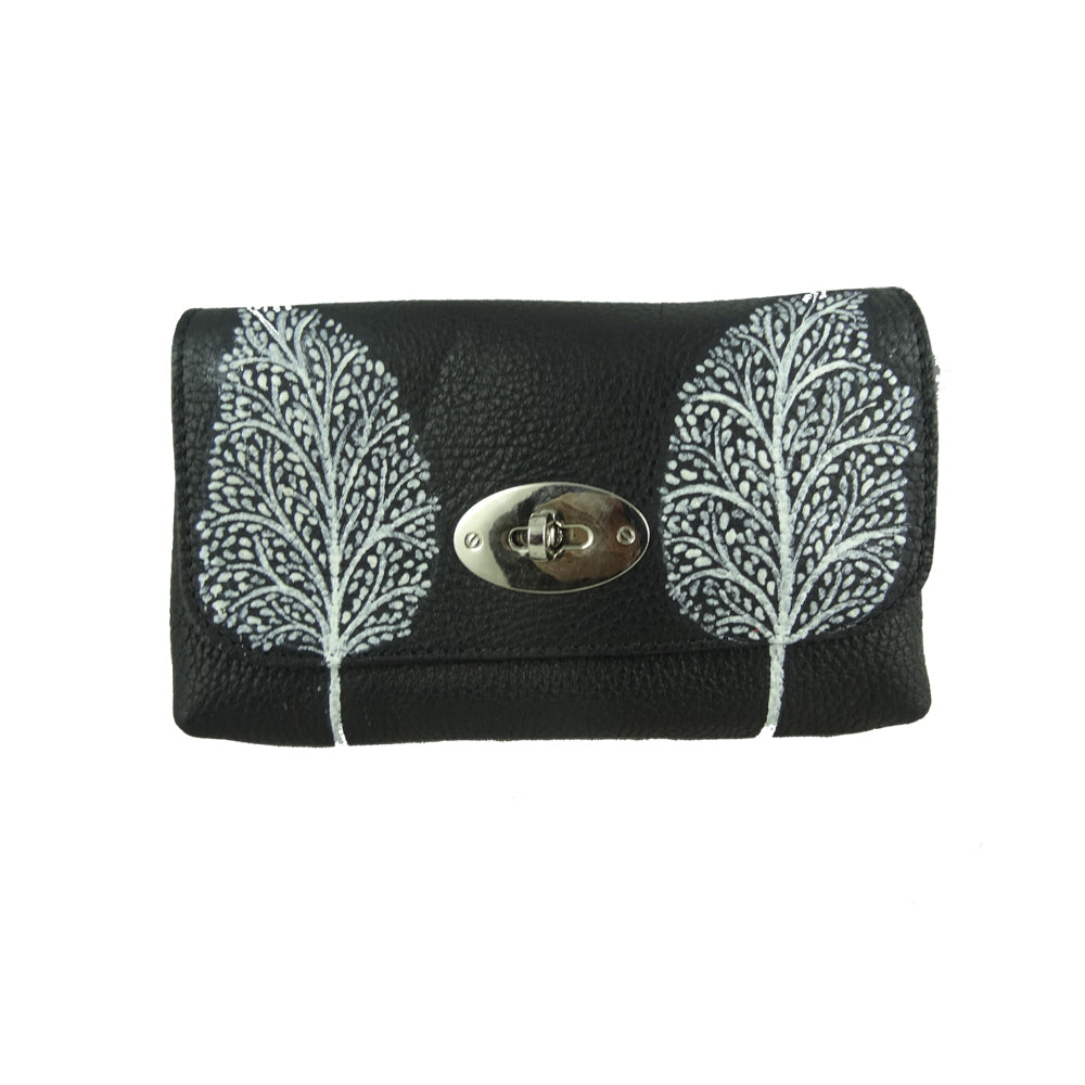 TREE OF LIFE, BLACK SADDLE BAG