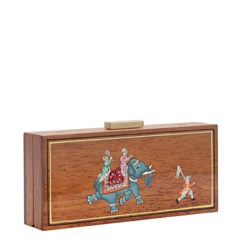 The Elephant, Wooden Clutch
