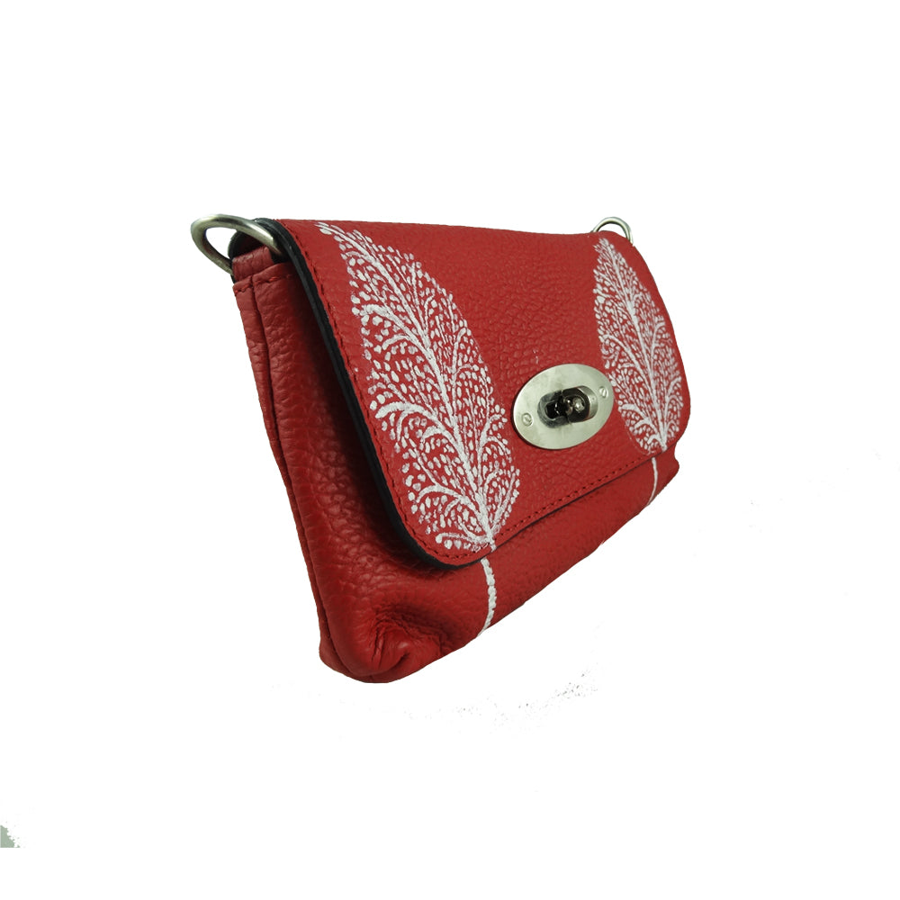 TREE OF LIFE, RED SADDLE BAG