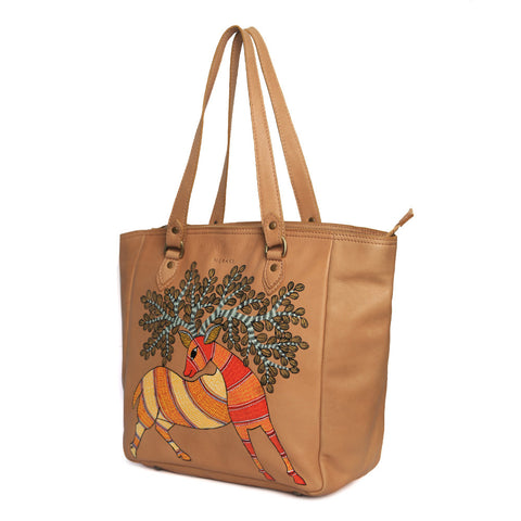 RETURN TO THE ROOT (Eco Leather Tote)