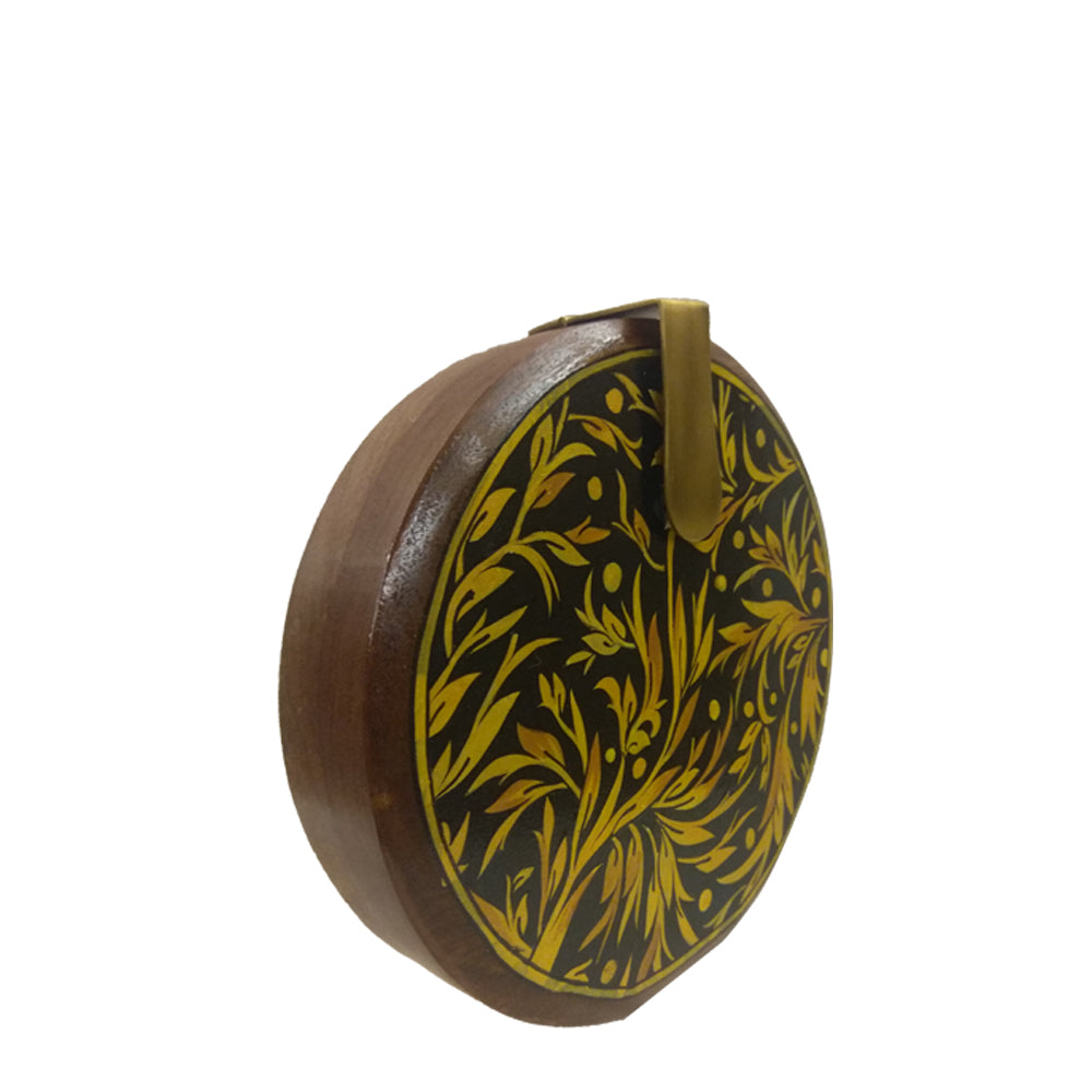 The Leaves, Round Wood Clutch