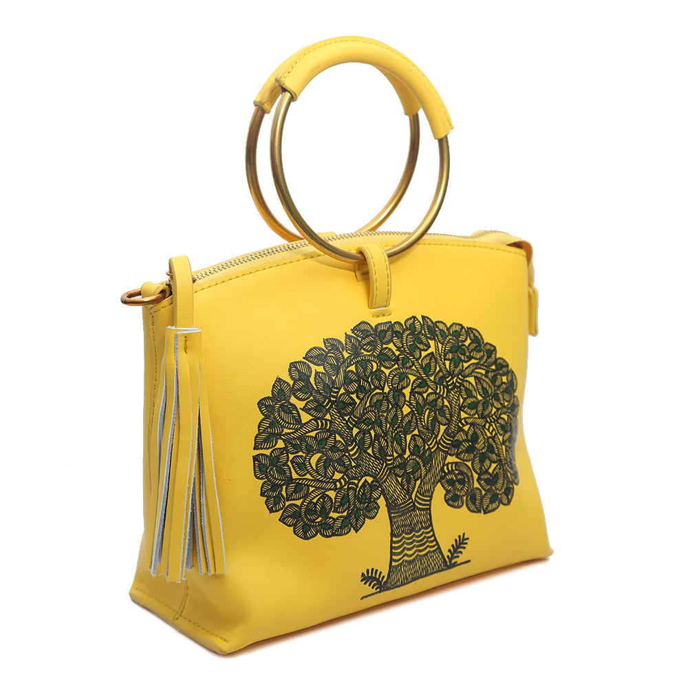 My Deepest Roots (Yellow Wristlet)