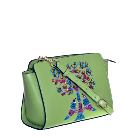 A Tale of Two Lovers, Green Crossbody