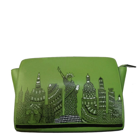 My New York! Handpainted Crossbody