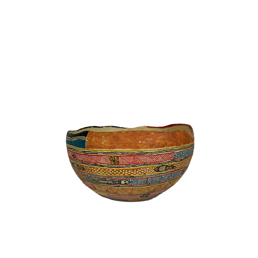 Madhubani handpainted bowl