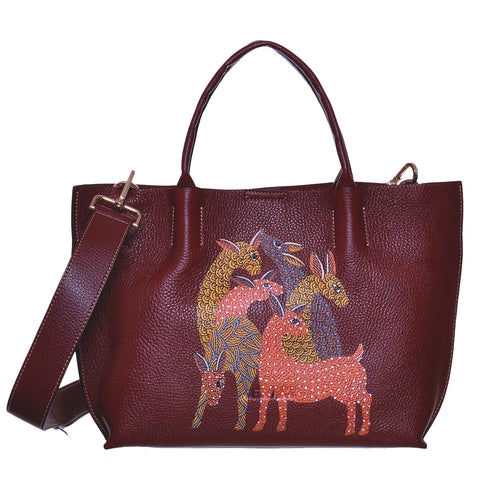 Return to the Root, Maroon Tote